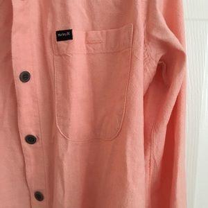 Hurley Tops - <donated> Hurley denim button shirt